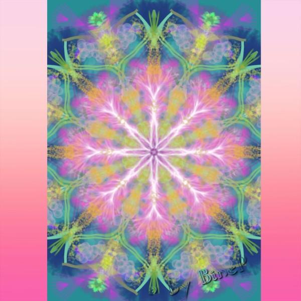 Mandala-springrosa