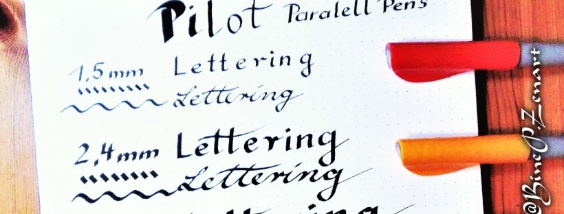 Paralell Pens Lettering