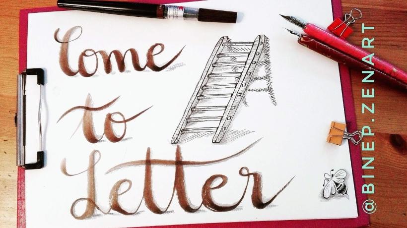 #ilettertoo #handlettering #brushlettering